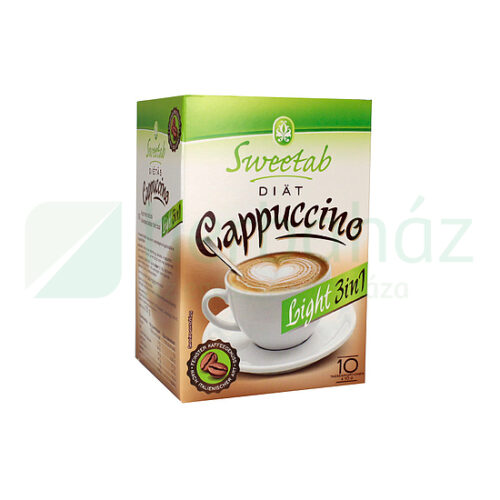 Coop Online - Sweetab cukormentes cappuccino 10x10 - 100 g