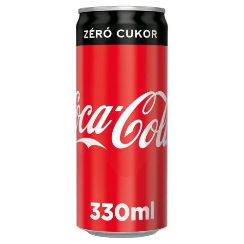 Coop Online - COCA-COLA ZERO SLEEK CAN 0.33L