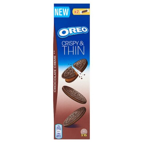 Coop Online - Oreo Crispy & Thin Original Cocoa Biscuits with Choco Crème 16 pcs 96 g